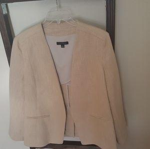 Ann Taylor open front blazer